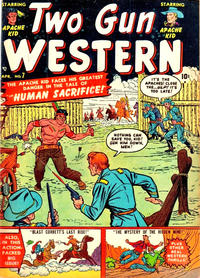 Cover Thumbnail for Two Gun Western (Marvel, 1950 series) #7