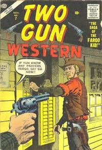 Cover Thumbnail for Two Gun Western (Marvel, 1956 series) #7