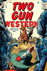 Cover Thumbnail for Two Gun Western (Marvel, 1956 series) #8
