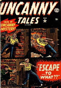 Cover Thumbnail for Uncanny Tales (Marvel, 1952 series) #3