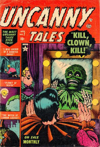Cover Thumbnail for Uncanny Tales (Marvel, 1952 series) #7