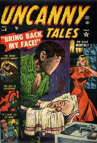 Cover Thumbnail for Uncanny Tales (Marvel, 1952 series) #8