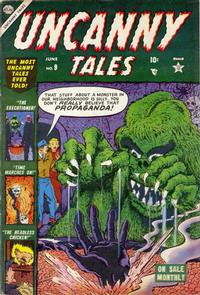 Cover Thumbnail for Uncanny Tales (Marvel, 1952 series) #9