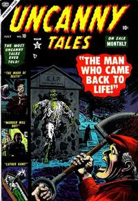 Cover Thumbnail for Uncanny Tales (Marvel, 1952 series) #10