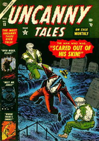 Cover Thumbnail for Uncanny Tales (Marvel, 1952 series) #13