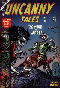 Cover Thumbnail for Uncanny Tales (Marvel, 1952 series) #16