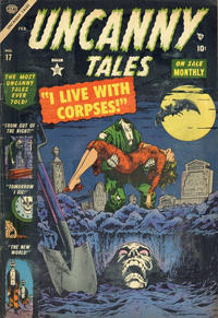 Cover Thumbnail for Uncanny Tales (Marvel, 1952 series) #17