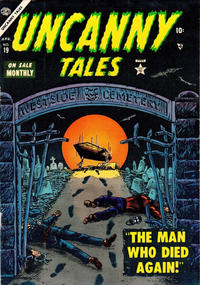 Cover Thumbnail for Uncanny Tales (Marvel, 1952 series) #19