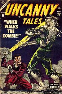 Cover Thumbnail for Uncanny Tales (Marvel, 1952 series) #21