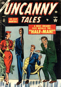 Cover Thumbnail for Uncanny Tales (Marvel, 1952 series) #22