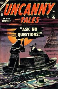 Cover Thumbnail for Uncanny Tales (Marvel, 1952 series) #23