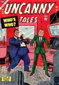 Cover Thumbnail for Uncanny Tales (Marvel, 1952 series) #24