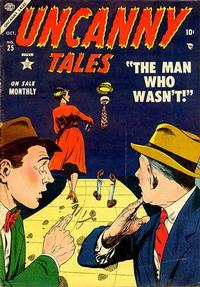 Cover Thumbnail for Uncanny Tales (Marvel, 1952 series) #25