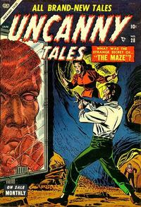 Cover Thumbnail for Uncanny Tales (Marvel, 1952 series) #28