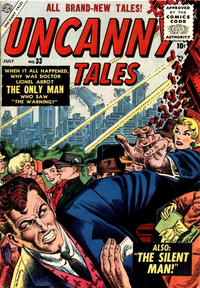 Cover Thumbnail for Uncanny Tales (Marvel, 1952 series) #33