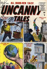 Cover Thumbnail for Uncanny Tales (Marvel, 1952 series) #34