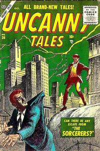 Cover Thumbnail for Uncanny Tales (Marvel, 1952 series) #36
