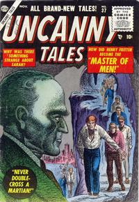 Cover Thumbnail for Uncanny Tales (Marvel, 1952 series) #37