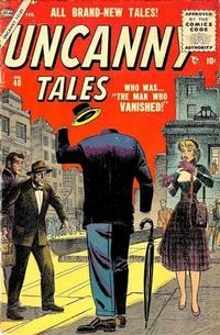 Cover Thumbnail for Uncanny Tales (Marvel, 1952 series) #40