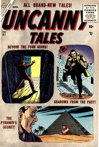 Cover Thumbnail for Uncanny Tales (Marvel, 1952 series) #41