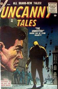 Cover for Uncanny Tales (Marvel, 1952 series) #46