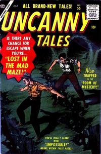 Cover Thumbnail for Uncanny Tales (Marvel, 1952 series) #55