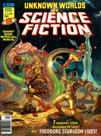 Cover Thumbnail for Unknown Worlds of Science Fiction [Giant Size Special] (Marvel, 1976 series) #1
