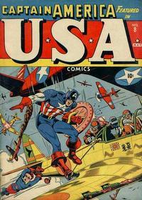 Cover Thumbnail for USA Comics (Marvel, 1941 series) #8