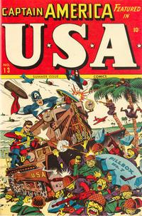 Cover Thumbnail for USA Comics (Marvel, 1941 series) #13