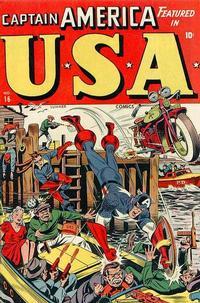 Cover Thumbnail for USA Comics (Marvel, 1941 series) #16