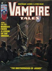 Cover for Vampire Tales (Marvel, 1973 series) #11
