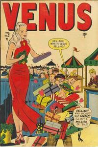 Cover Thumbnail for Venus (Marvel, 1948 series) #3