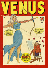 Cover for Venus (Marvel, 1948 series) #4