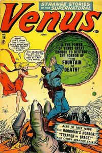 Cover Thumbnail for Venus (Marvel, 1948 series) #14