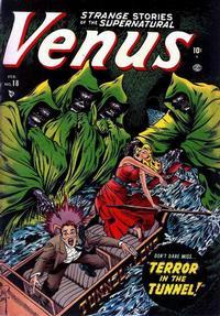 Cover Thumbnail for Venus (Marvel, 1948 series) #18