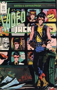 Cover Thumbnail for Video Jack (Marvel, 1987 series) #1