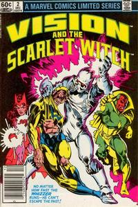 Cover Thumbnail for The Vision and the Scarlet Witch (Marvel, 1982 series) #2 [Newsstand Edition]