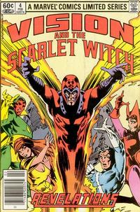 Cover for The Vision and the Scarlet Witch (Marvel, 1982 series) #4 [Newsstand Edition]