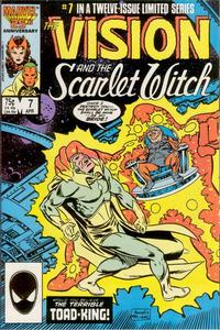 Cover Thumbnail for The Vision and the Scarlet Witch (Marvel, 1985 series) #7 [Direct Edition]