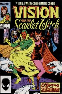 Cover Thumbnail for The Vision and the Scarlet Witch (Marvel, 1985 series) #1 [Direct Edition]
