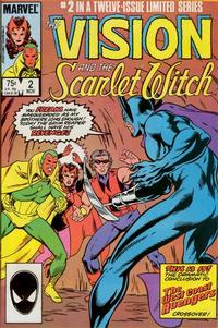 Cover Thumbnail for The Vision and the Scarlet Witch (Marvel, 1985 series) #2 [Direct Edition]