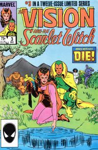 Cover Thumbnail for The Vision and the Scarlet Witch (Marvel, 1985 series) #3 [Direct Edition]