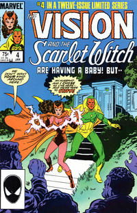 Cover Thumbnail for The Vision and the Scarlet Witch (Marvel, 1985 series) #4 [Direct Edition]