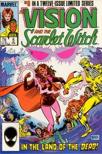 Cover Thumbnail for The Vision and the Scarlet Witch (Marvel, 1985 series) #5 [Direct Edition]