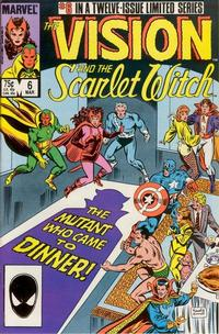 Cover Thumbnail for The Vision and the Scarlet Witch (Marvel, 1985 series) #6 [Direct Edition]