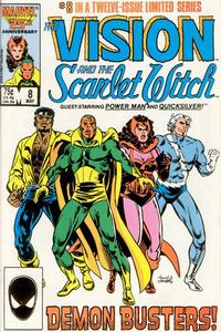 Cover Thumbnail for The Vision and the Scarlet Witch (Marvel, 1985 series) #8 [Direct Edition]