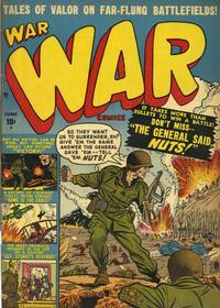 Cover Thumbnail for War Comics (Marvel, 1950 series) #4