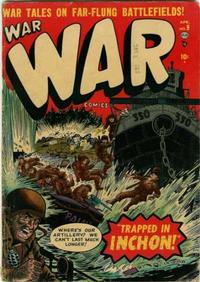 Cover Thumbnail for War Comics (Marvel, 1950 series) #9