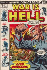 Cover Thumbnail for War Is Hell (Marvel, 1973 series) #4