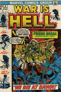 Cover Thumbnail for War Is Hell (Marvel, 1973 series) #6